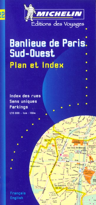 PLAN BANLIEUE PARIS S/O + REPERTOIRE DES RUES