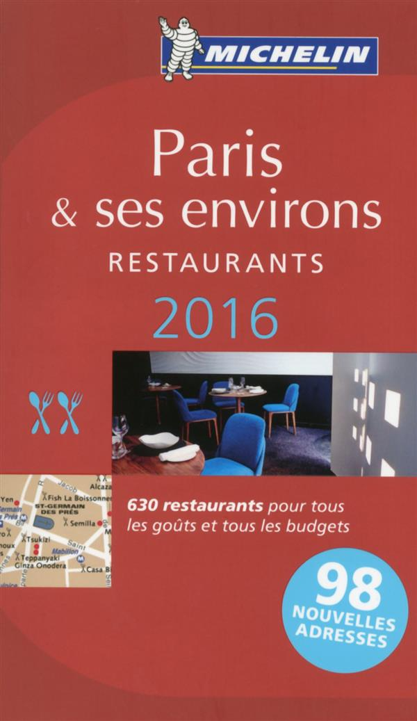 PARIS - LE GUIDE MICHELIN 2016