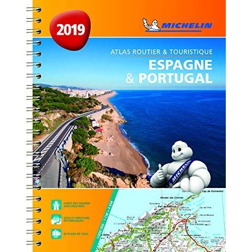 ESPAGNE & PORTUGAL 2019 - ATLAS ROUTIER ET TOURISTIQUE