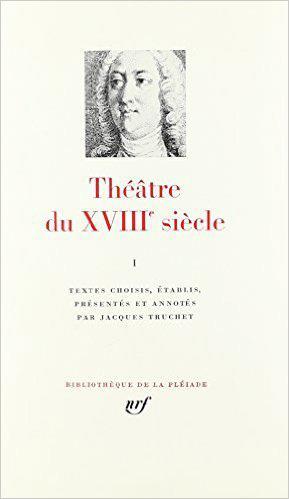 THEATRE DU XVIII  SIECLE - VOL01 - 1700-1756 1