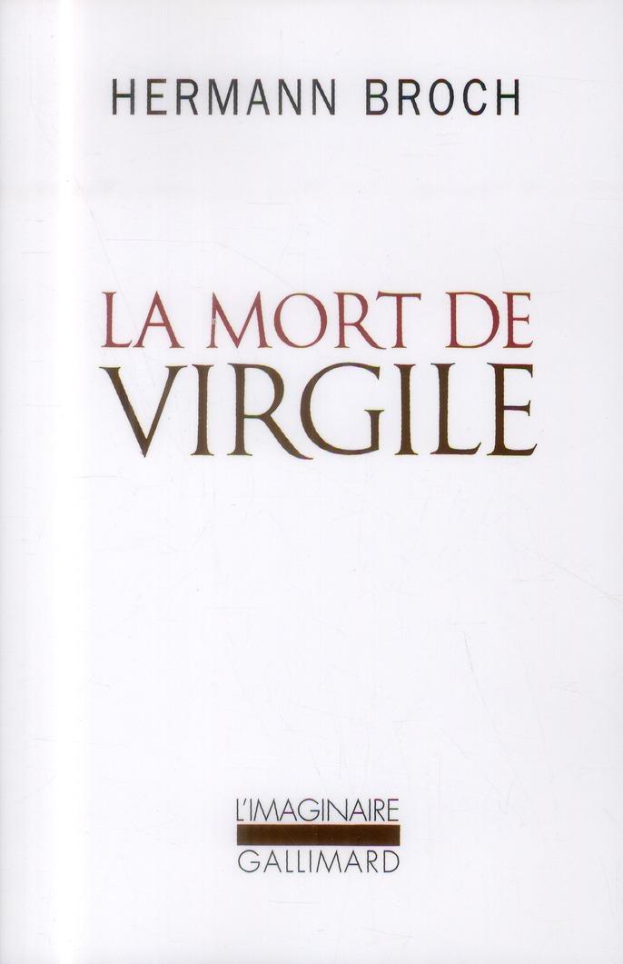 LA MORT DE VIRGILE
