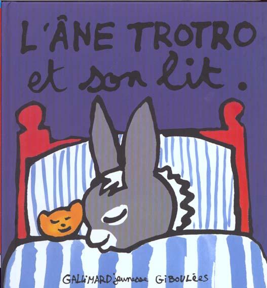 L'ANE TROTRO ET SON LIT