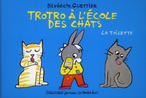 TROTRO A L'ECOLE DES CHATS - LA TOILETTE
