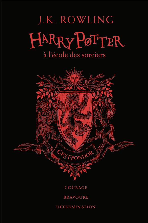 HARRY POTTER, I : HARRY POTTER A L'ECOLE DES SORCIERS - GRYFFONDOR