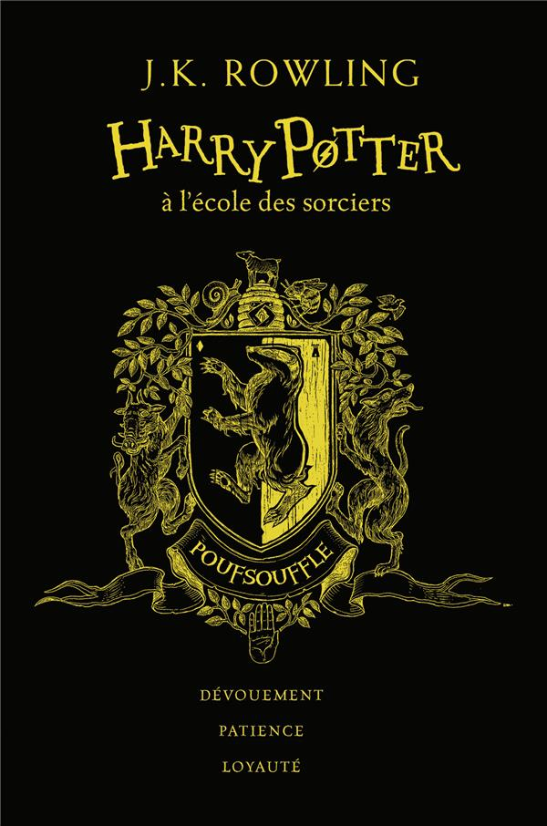 HARRY POTTER, I : HARRY POTTER A L'ECOLE DES SORCIERS - POUFSOUFFLE