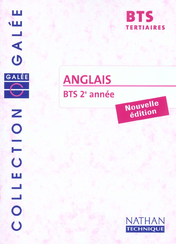 ANGLAIS BTS 2 TERTIAIRE GALEE