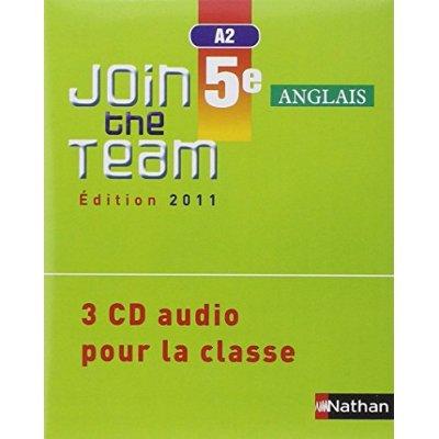 JOIN THE TEAM 5E 3 CD CLASS 11