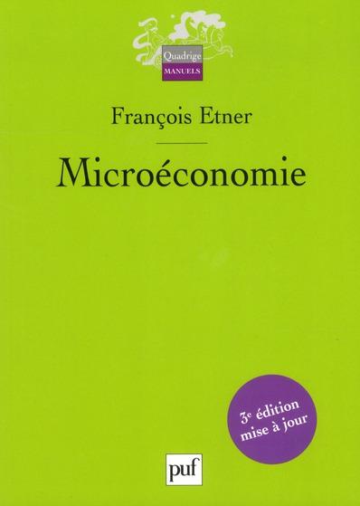 MICROECONOMIE (3ED)