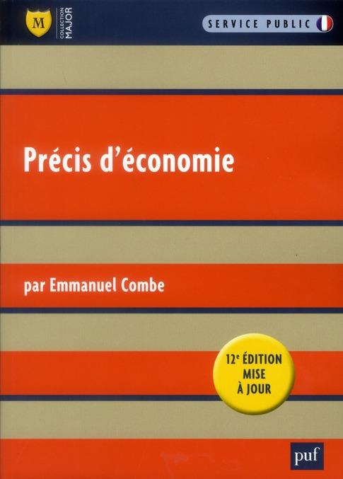 PRECIS D'ECONOMIE (12ED)