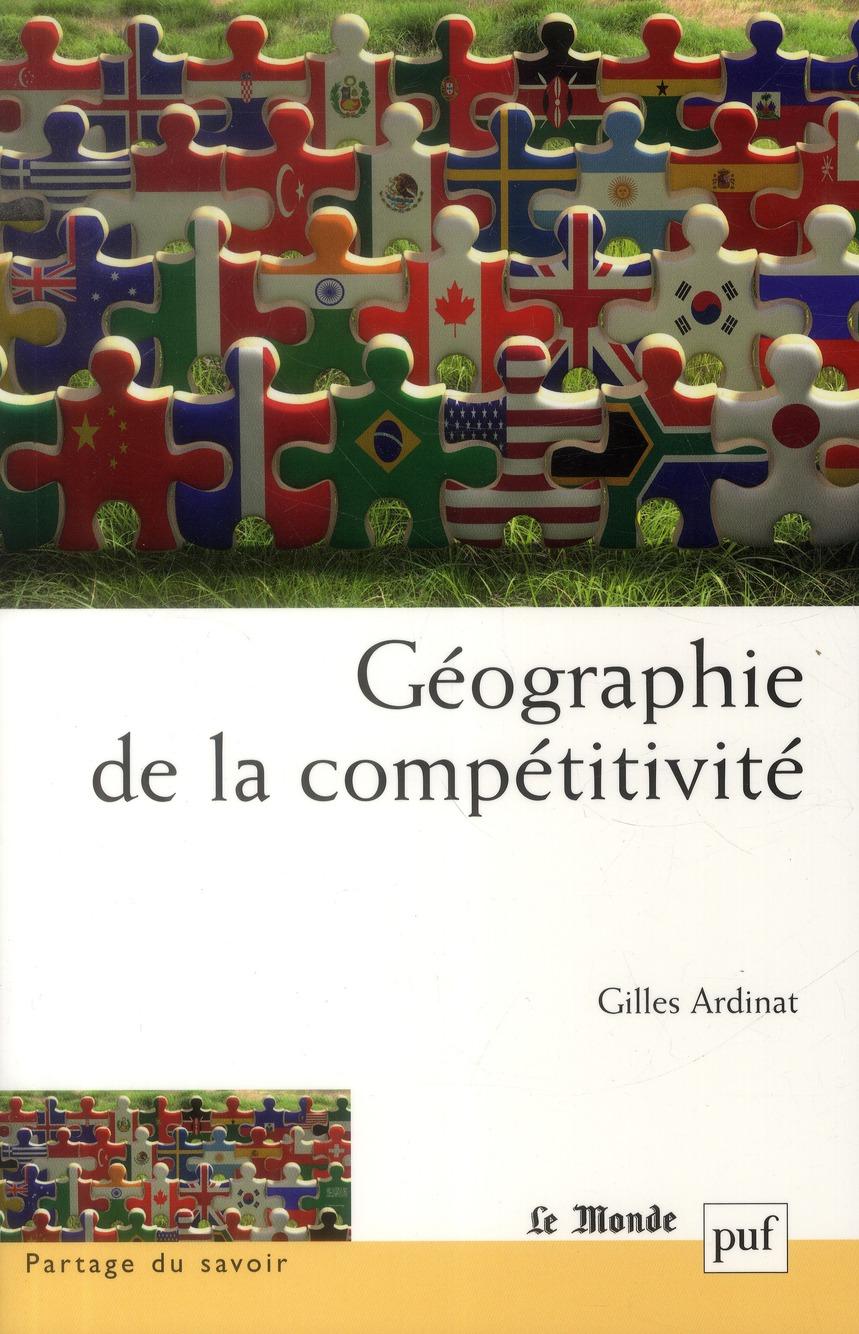 GEOGRAPHIE DE LA COMPETITIVITE