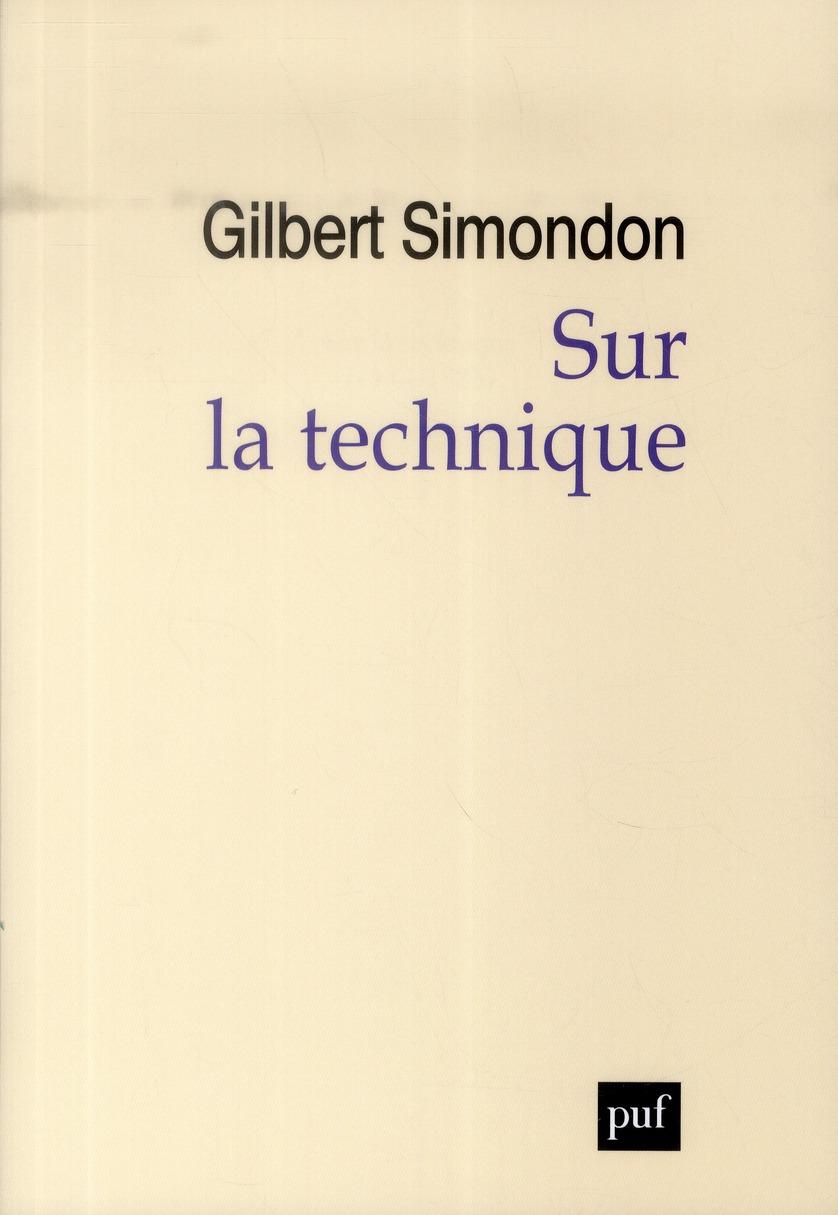 SUR LA TECHNIQUE (1953-1983)
