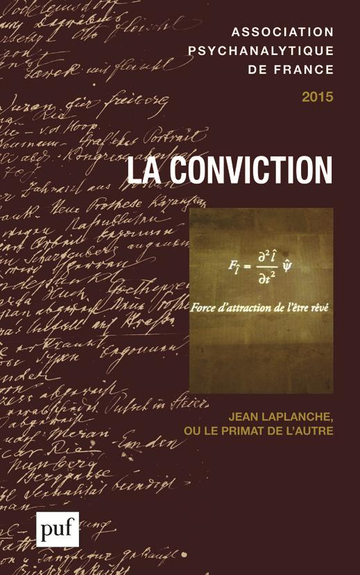 ANNUEL 2015 - APF. LA CONVICTION