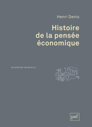 HISTOIRE DE LA PENSEE ECONOMIQUE