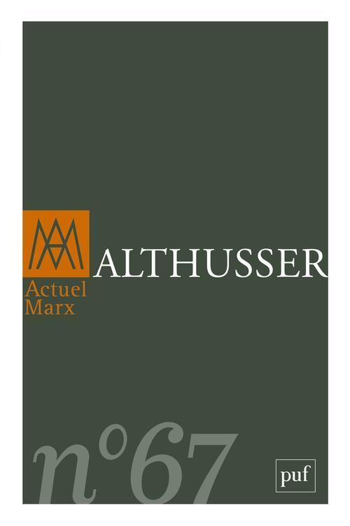 ACTUEL MARX 2020, N.67