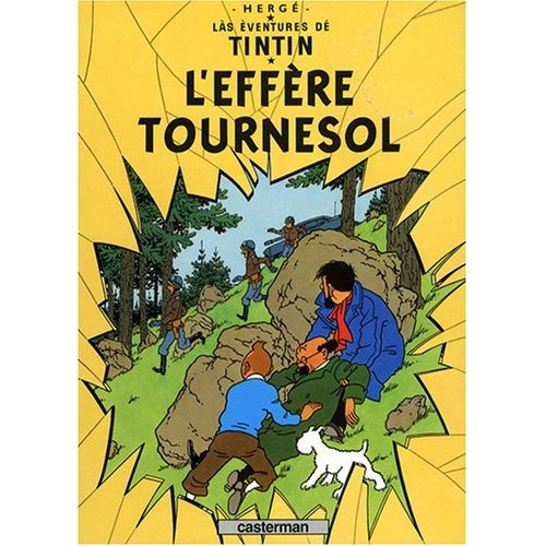 TINTIN VOSGIEN L'AFFAIRE TOURNESOL