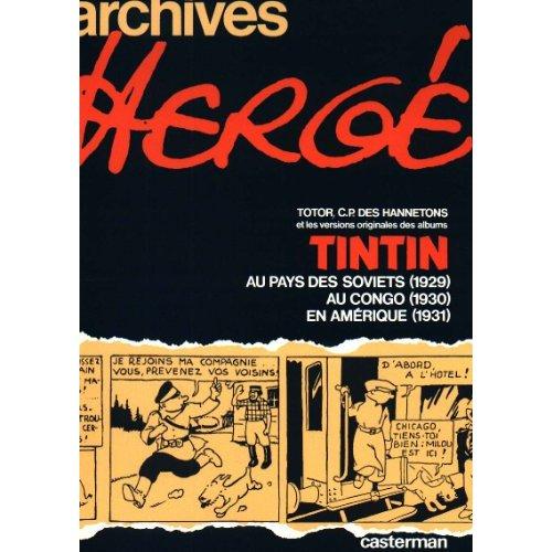 ARCHIVES 1 TINTIN