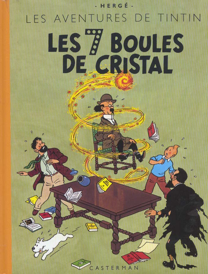 TINTIN - T13 - LES 7 BOULES DE CRISTAL