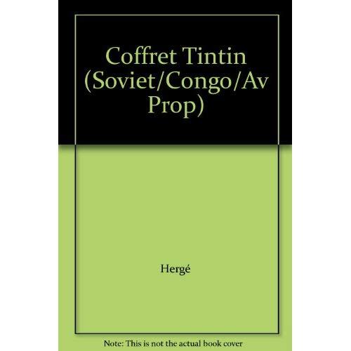 COFFRET TINTIN (SOVIET/CONGO/AV PROP)