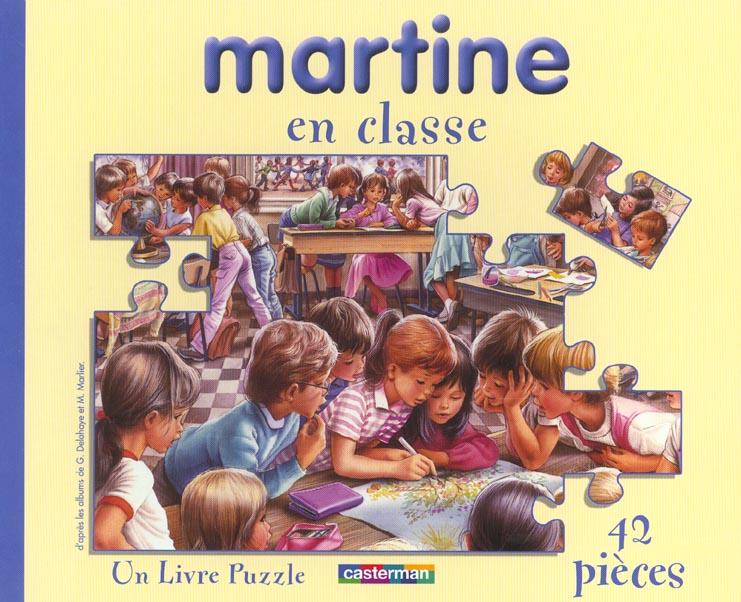 MARTINE EN CLASSE (LIVRE PUZZLE)