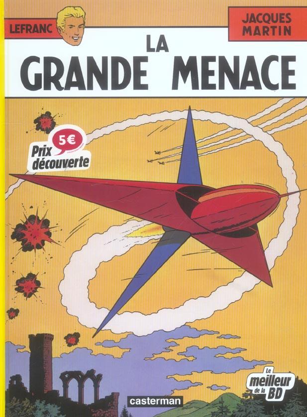 GRANDE MENACE FETE BD (LA)