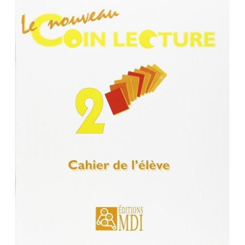 LE COIN LECTURE 2 - LOT DE 10 CAHIERS + 1 TABLEAU DE BORD