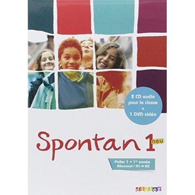 SPONTAN 1 NEU PALIER 1 - 1RE ANNEE - COFFRET 2 CD + DVD