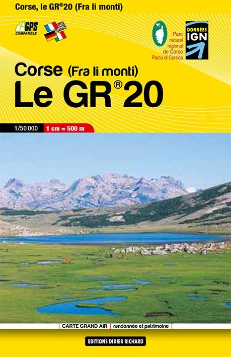 LE GR20 CORSE (FRA LI MONTI)