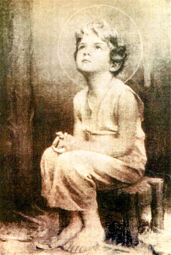 IMAGE MIRACULEUSE DE L'ENFANT JESUS PAR LOT DE 20
