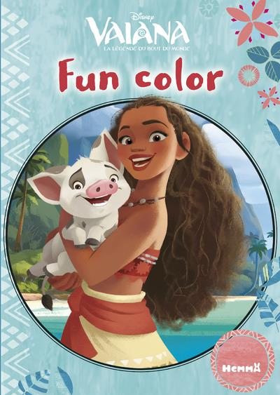 DISNEY VAIANA FUN COLOR