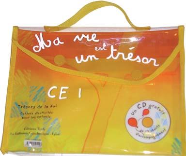 MA VIE EST UN TRESOR CE1 POCHETTE + CD GRATUIT NE 2005