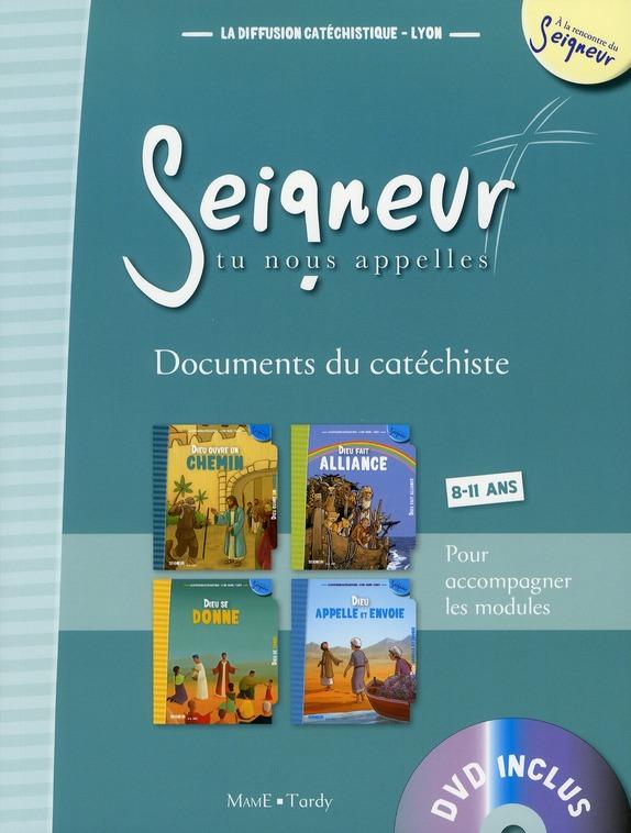 8-11 ANS - DOCUMENT DU CATECHISTE BLEU + DVD - MODULES 5 A 8
