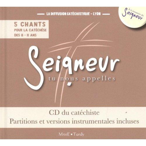 8-11 ANS - CD DU CATECHISTE MARRON + PARTITIONS - MODULES 9 A 12