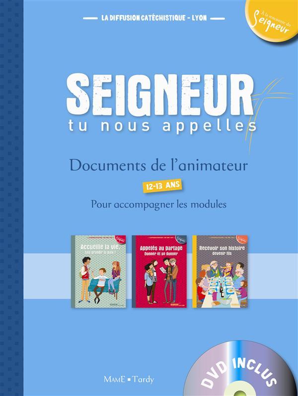 12-13 ANS - DOCUMENTS DE L'ANIMATEUR BLEU (+ DVD) - MODULES 5 A 7