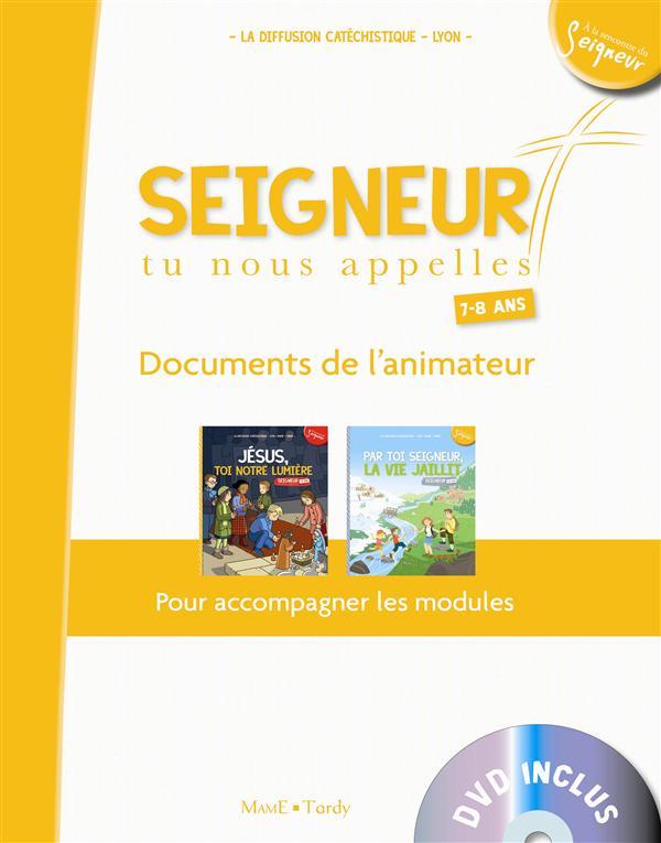 7-8 ANS - DOCUMENT ANIMATEUR BLANC + DVD - MODULES 4 ET 5
