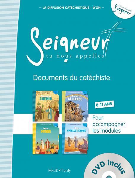 8-11 ANS - DOCUMENTS DU CATECHISTE BLEU (+ DVD) - MODULES 5 A 8 - EDITION SIMPLIFIEE