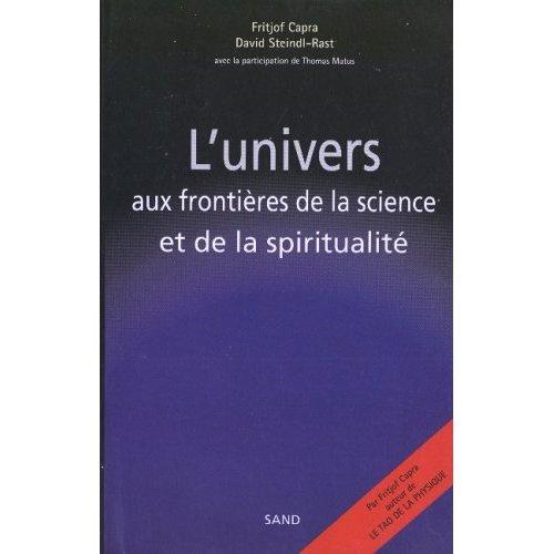 L'UNIVERS AUX FRONTIERES DE LA SCIENCE ET DE LA  SPIRITUALITE