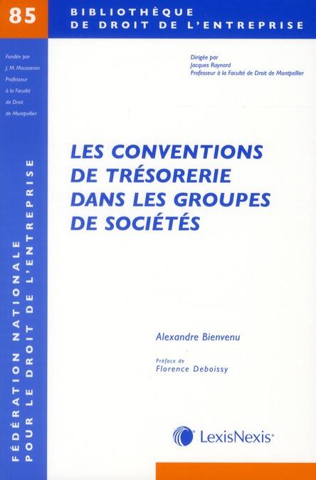 LES CONVENTIONS DE TRESORERIE DANS LES GROUPES DE SOCIETES - N  85