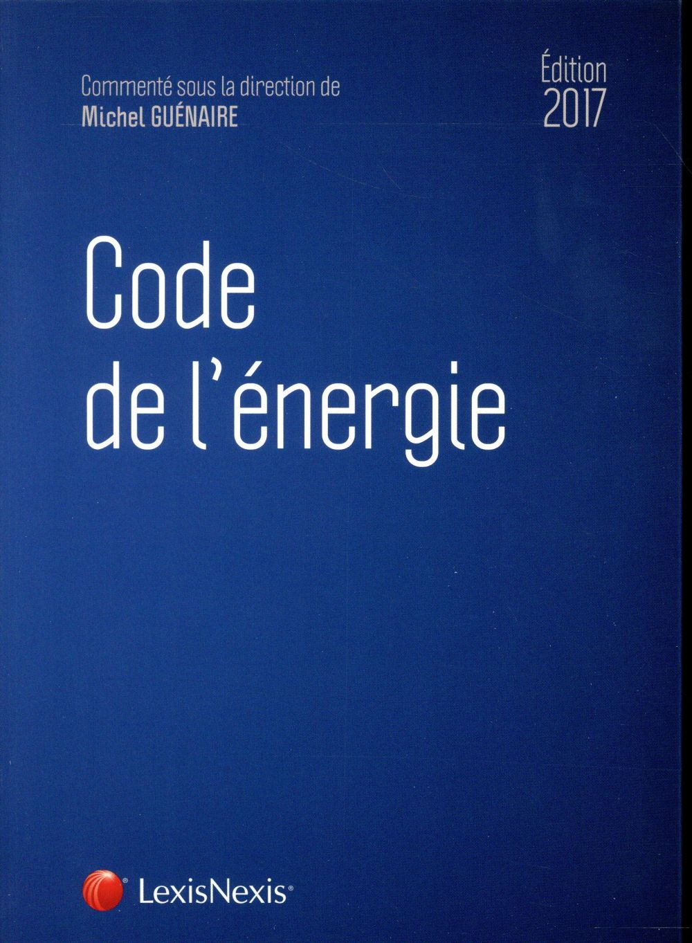 CODE DE L ENERGIE 2017