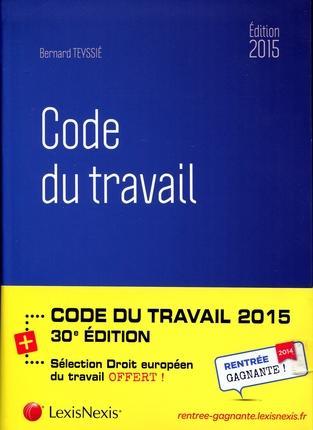 CODE DU TRAVAIL 2015 AVEC PRIME DROIT SOCIAL