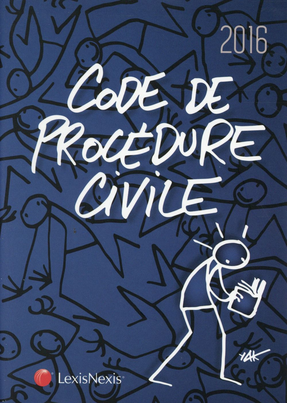 CODE DE PROCEDURE CIVILE 2016  JAQUETTE ELYX - 29E EDITION