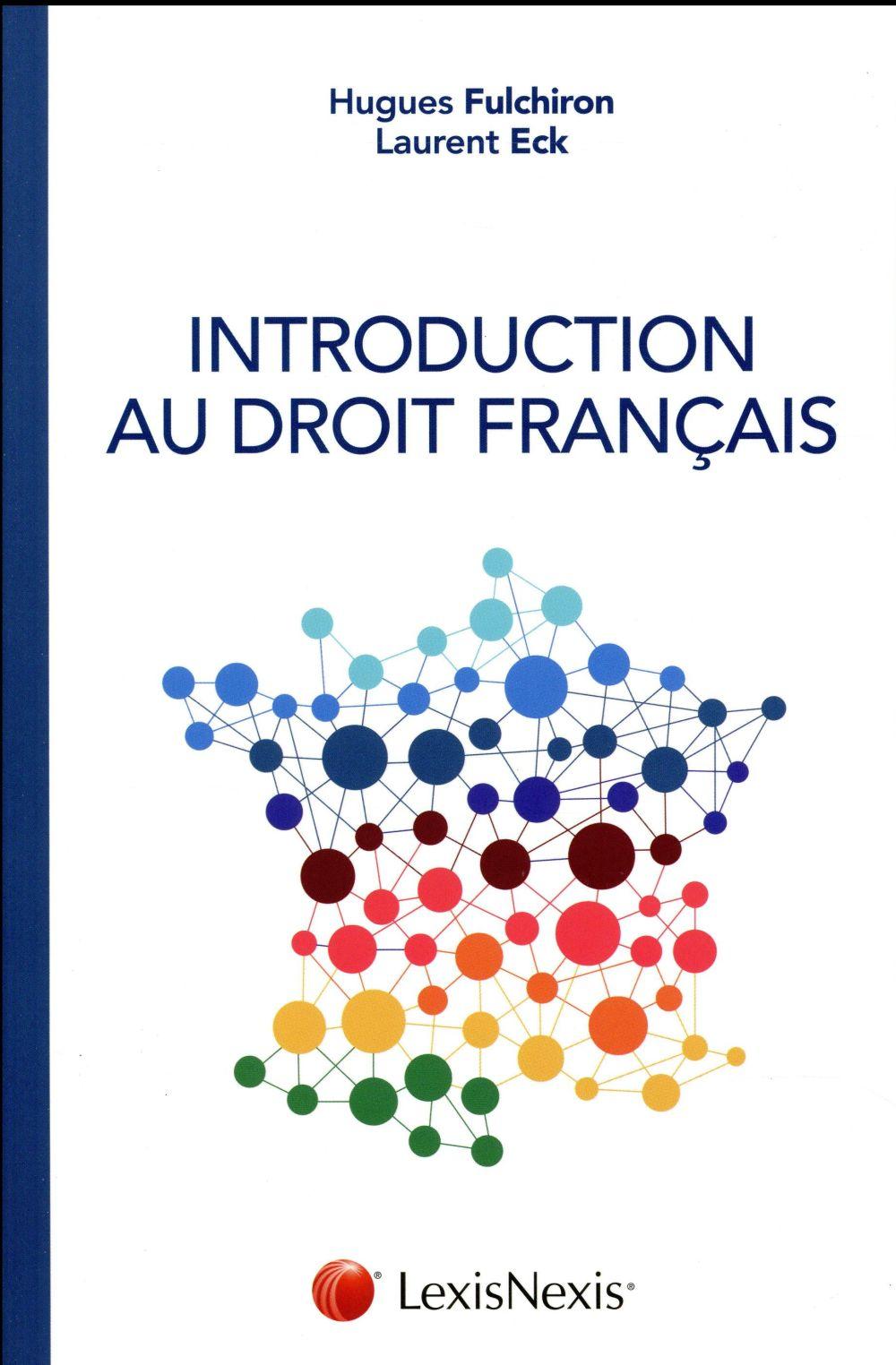 INTRODUCTION AU DROIT FRANCAIS