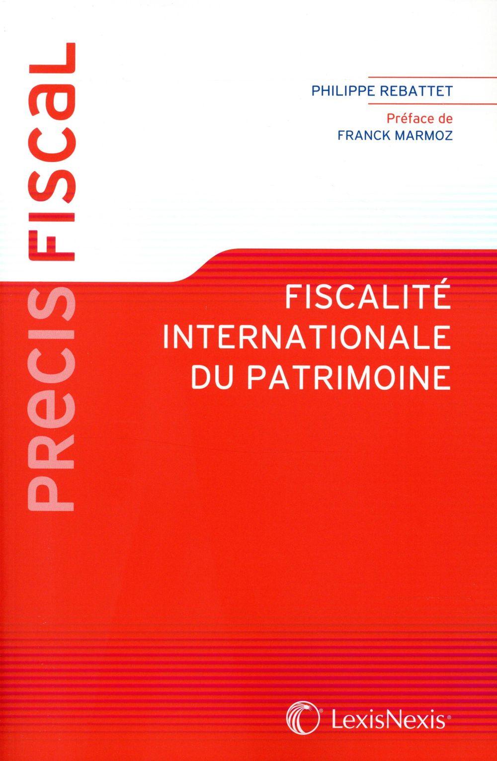FISCALITE INTERNATIONALE DU PATRIMOINE