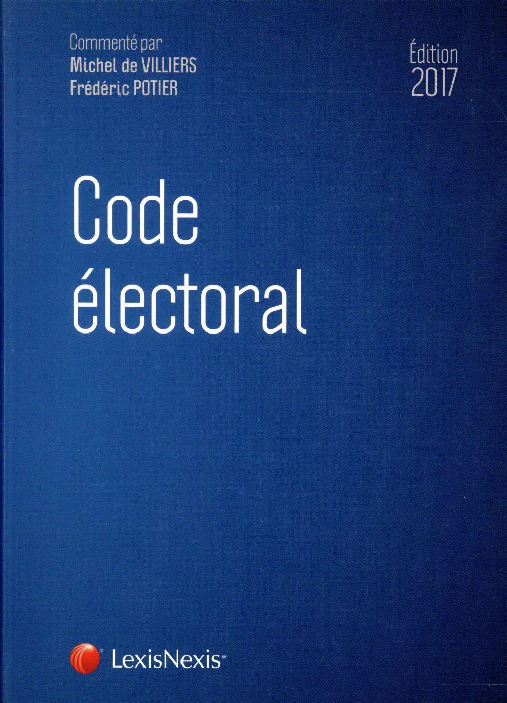 CODE ELECTORAL 2017