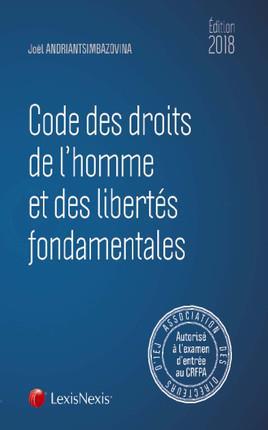 CODE DES DROITS DE L HOMME ET DES LIBERTES FONDAMENTALES 2018