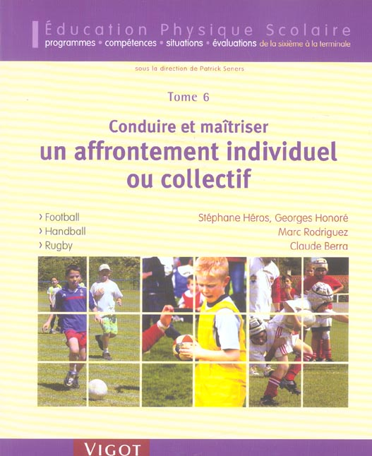 EPS TOME 6 FOOTBALL HANDBALL RUGBY
