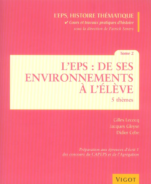 EPS ENVIRONNEMENTS ELEVE T2