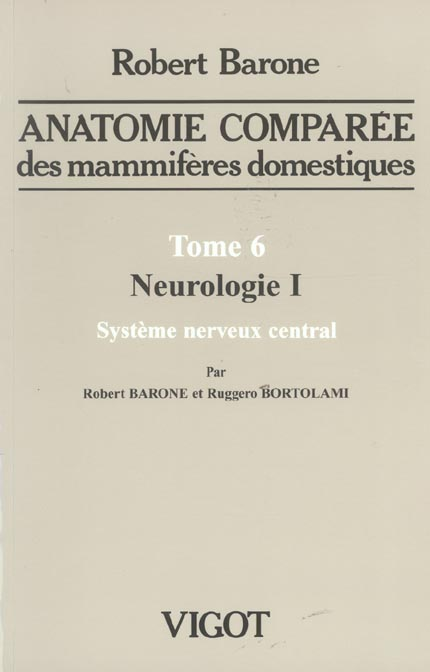 ANAT COMPAREE T6 NEUROLOGIE