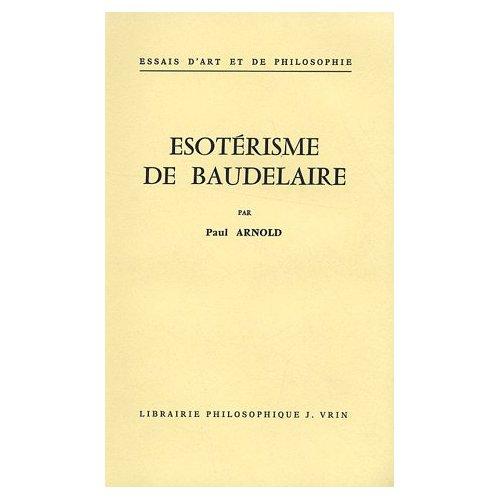 ESOTERISME DE BAUDELAIRE