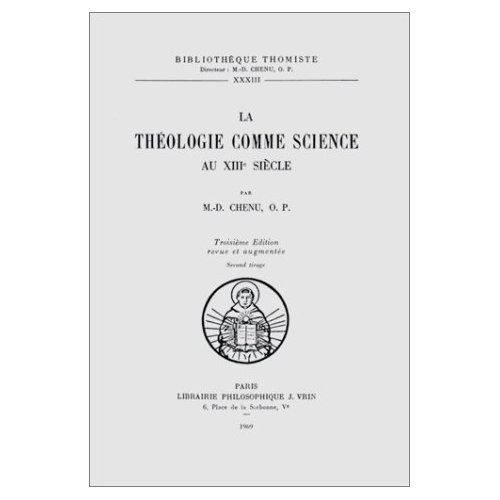 LA THEOLOGIE COMME SCIENCE AU XIIIE SIECLE