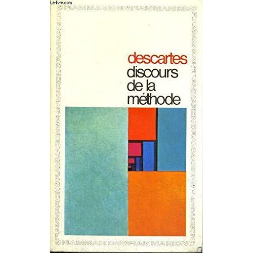 DISCOURS DE LA METHODE